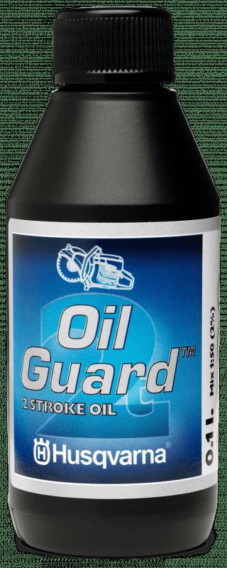 Husqvarna 2-Taktolie, Oil guard